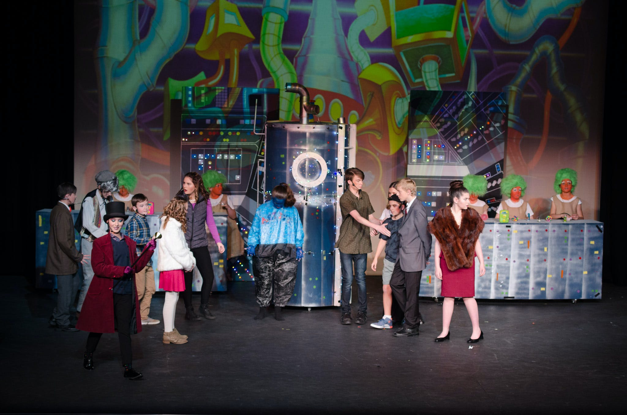 Charlie And The Chocolate Factory Spcc 228