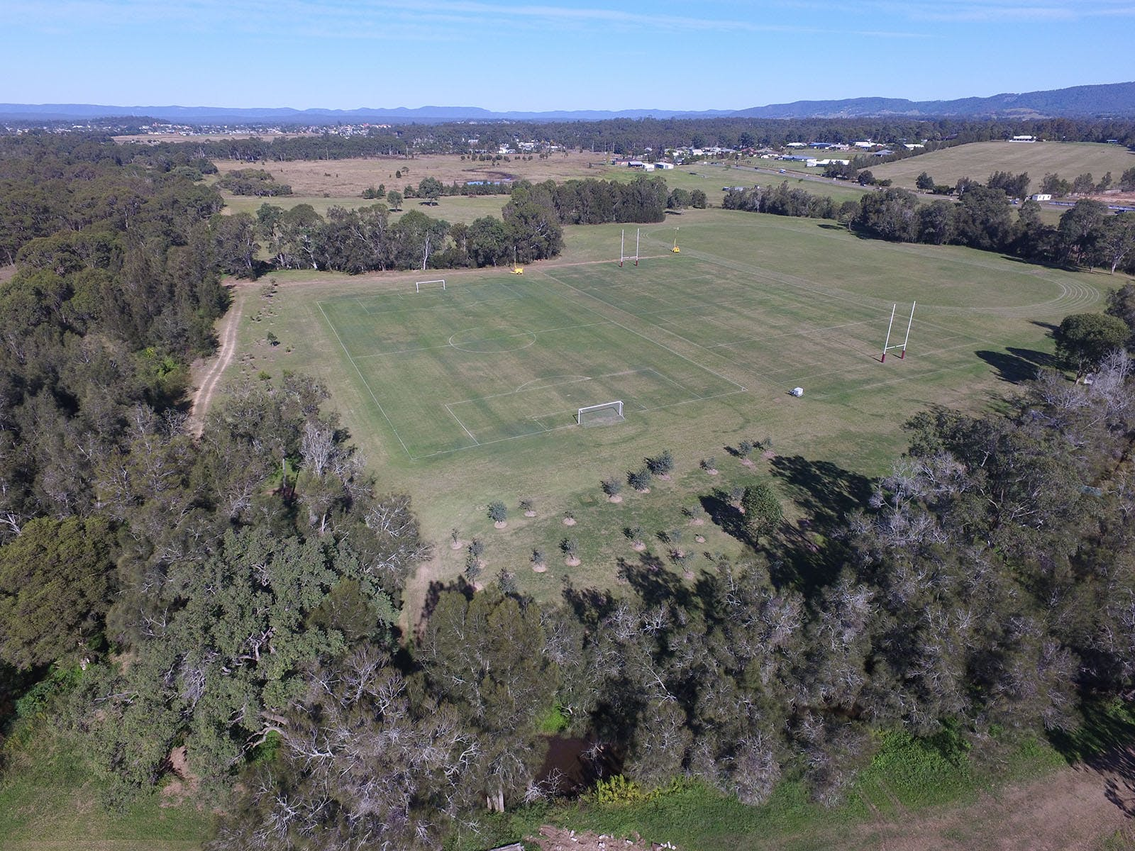 Rugby Fields Athletics Track