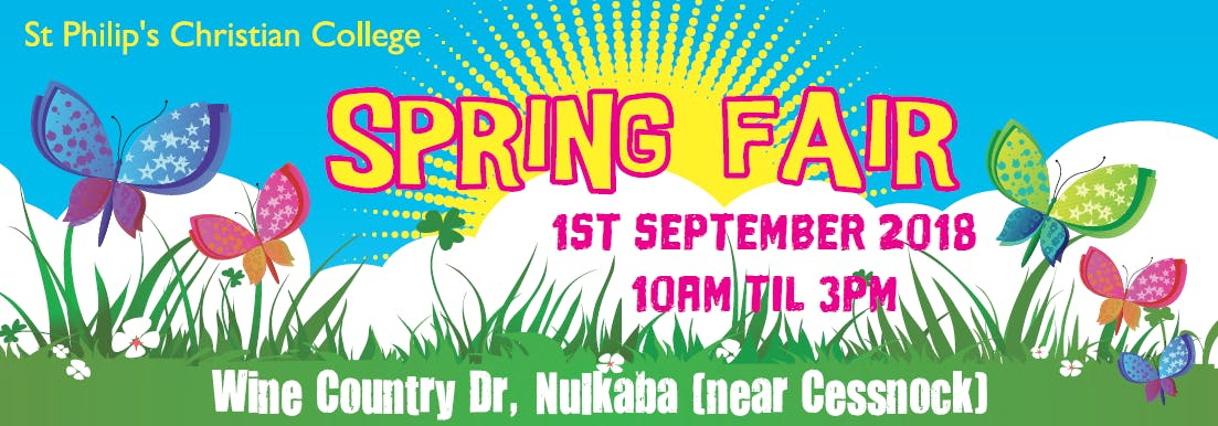 Spring Fair Banner