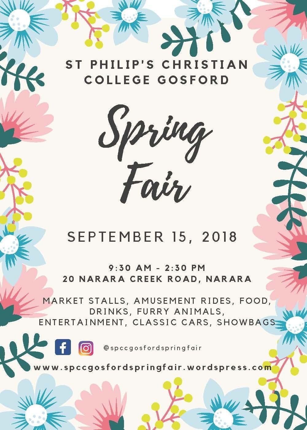 Spring Fair Poster