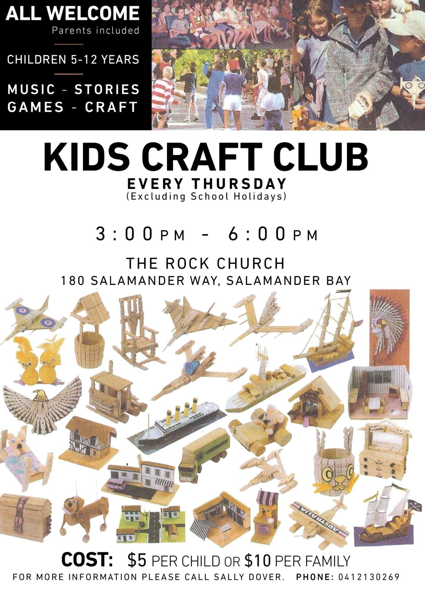 Kids Craft Club 1